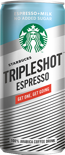 Starbucks® Tripleshot Espresso no added sugar