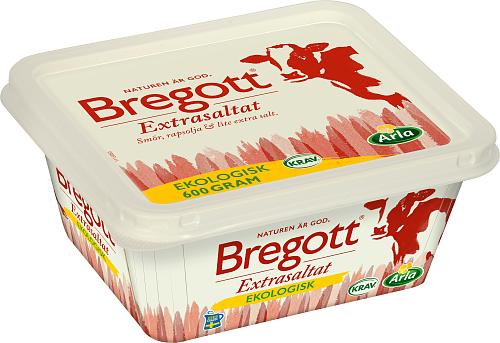 Bregott® Extrasaltat eko smör & rapsolja